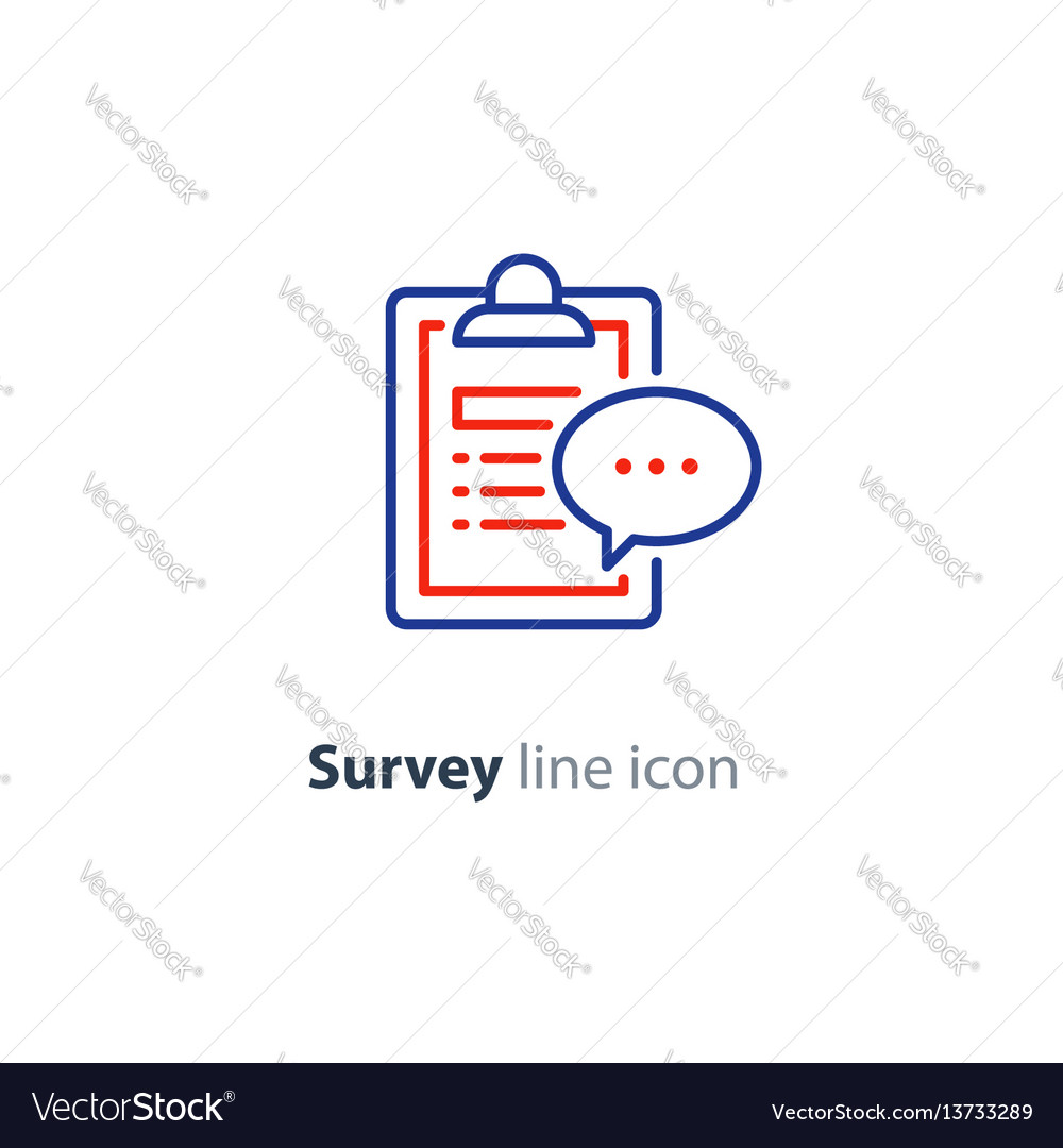 Brief report icon to do list and speech bubble