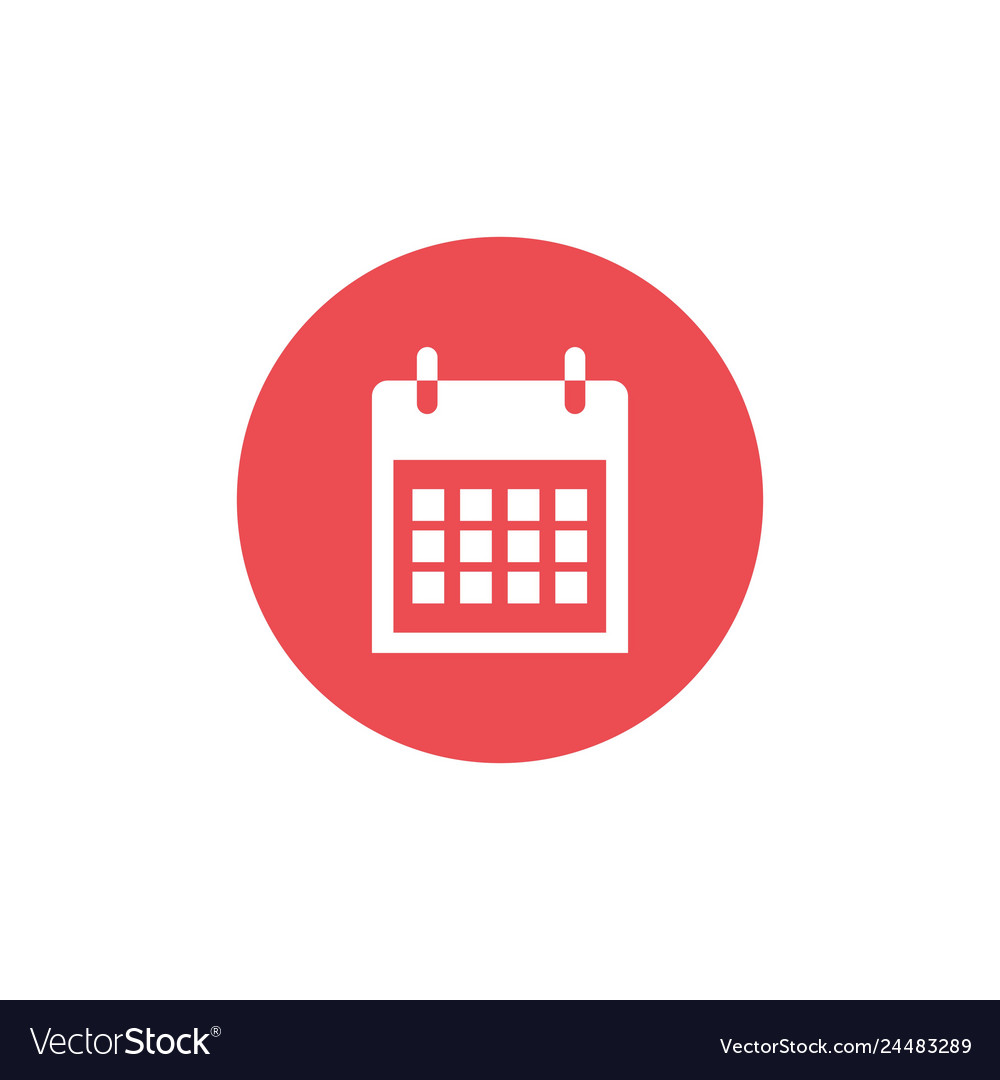 Calendar icon best icon with flat design