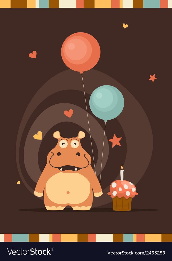Экскаваторами, открытки с днем рождения с бегемотиками
