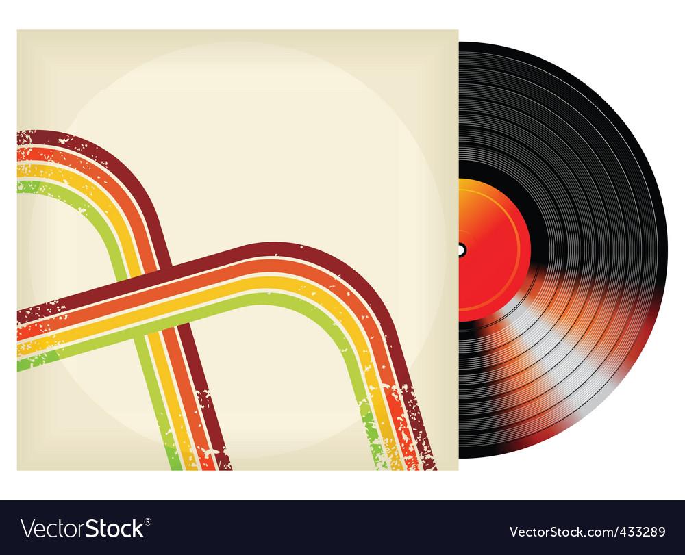 Retro vinyl design