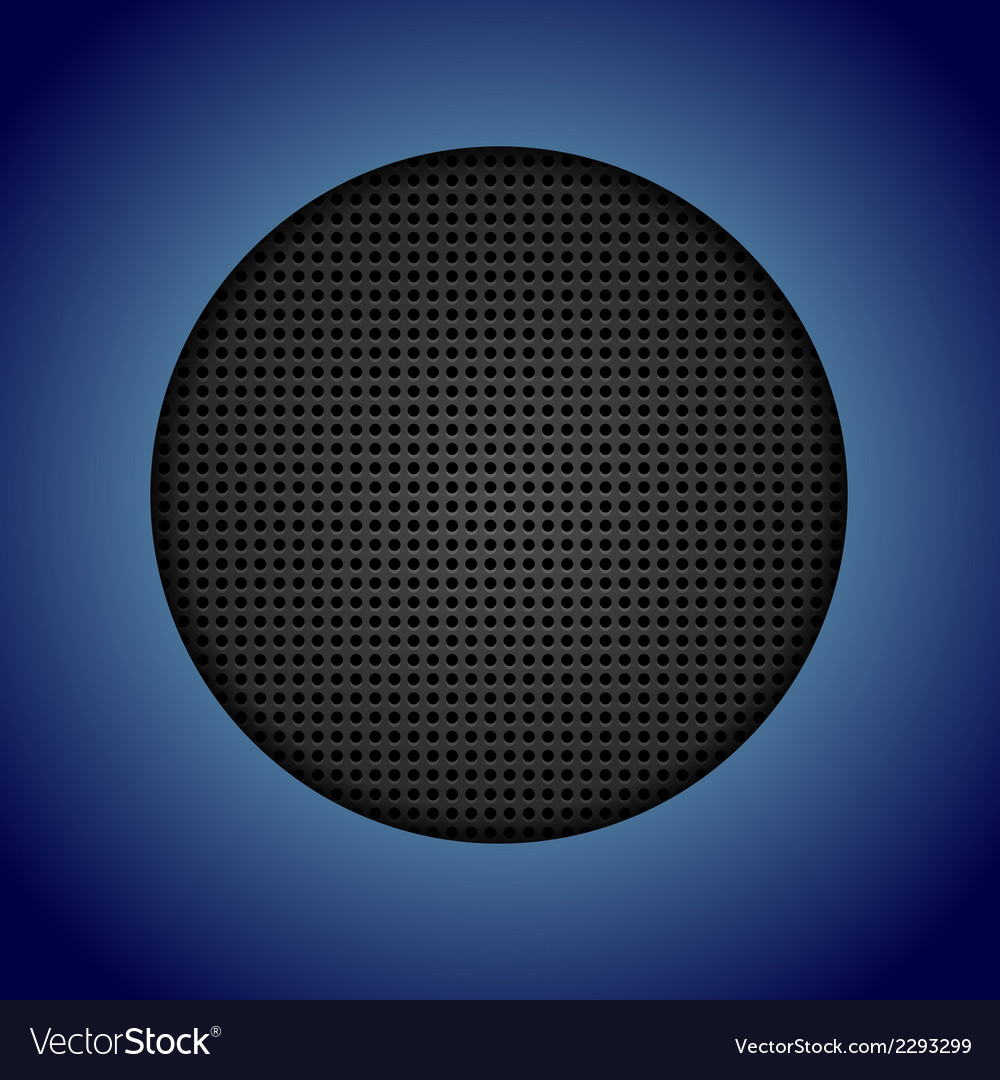 Abstract dark perforated texture vector image