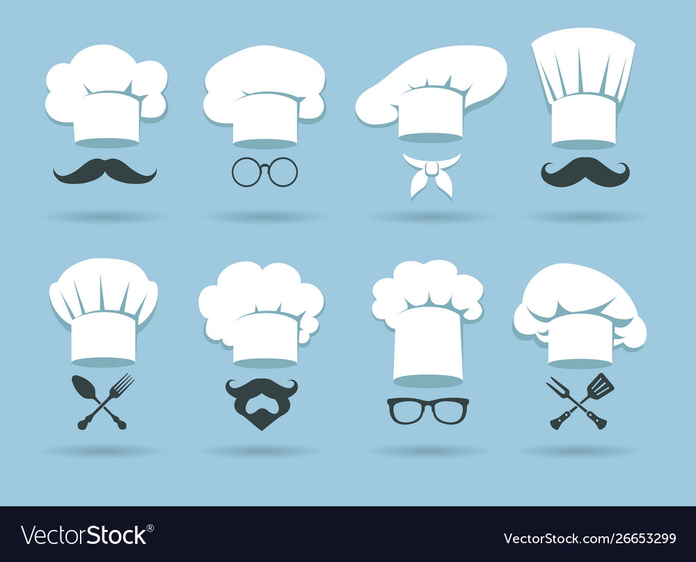 Cook chef hat logo