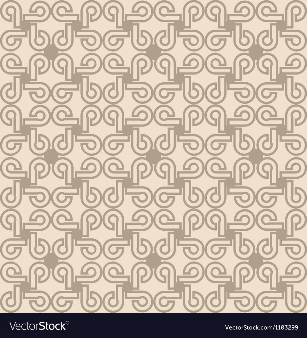 Vintage ornament old pattern vector image