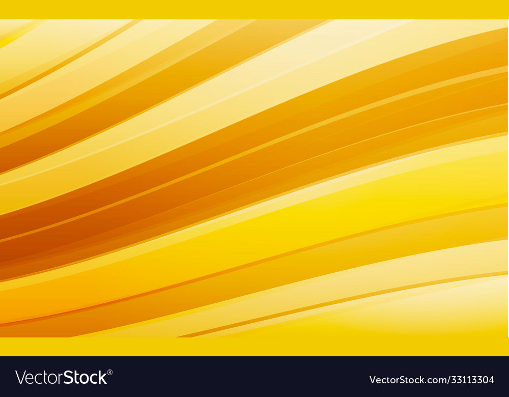 Abstract yellow wave background waved