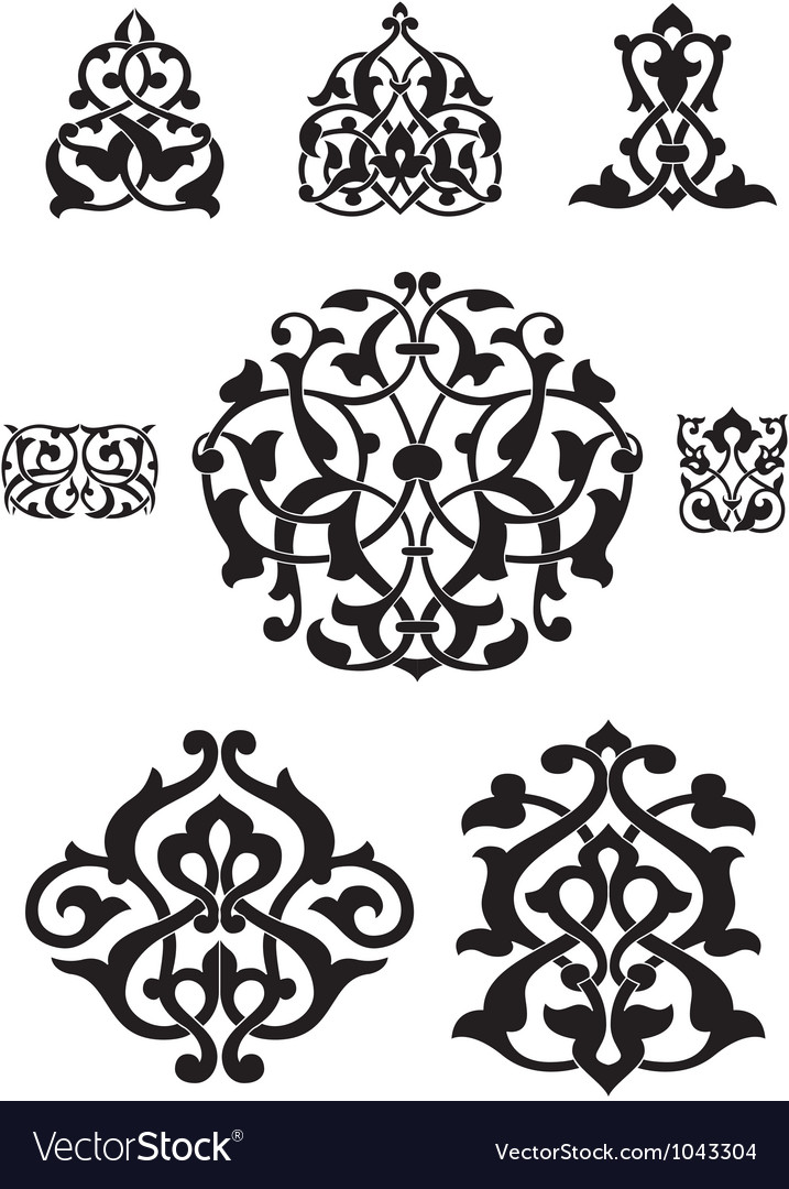 Arabesque collection for design