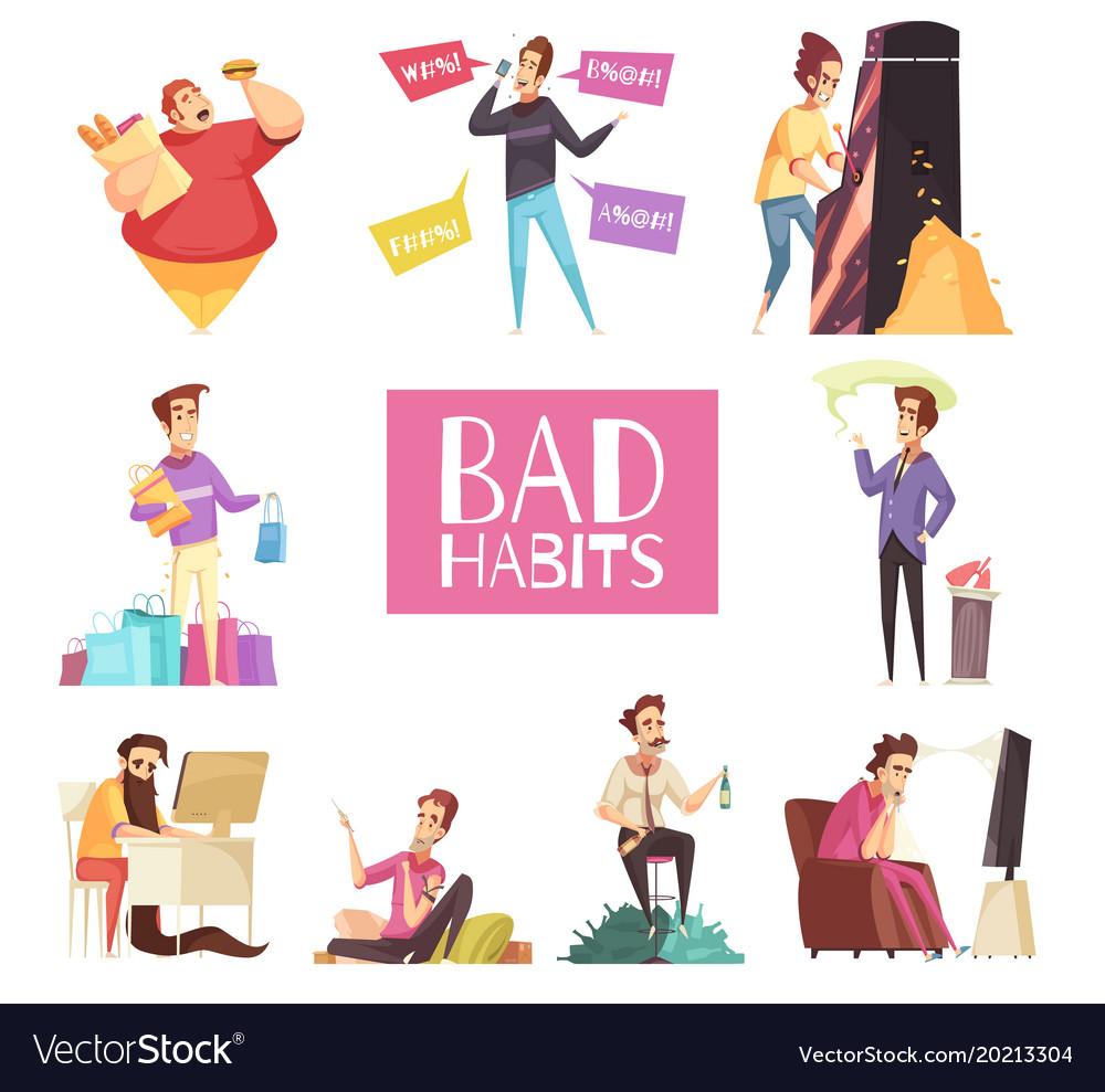 「bad habits」的圖片搜尋結果