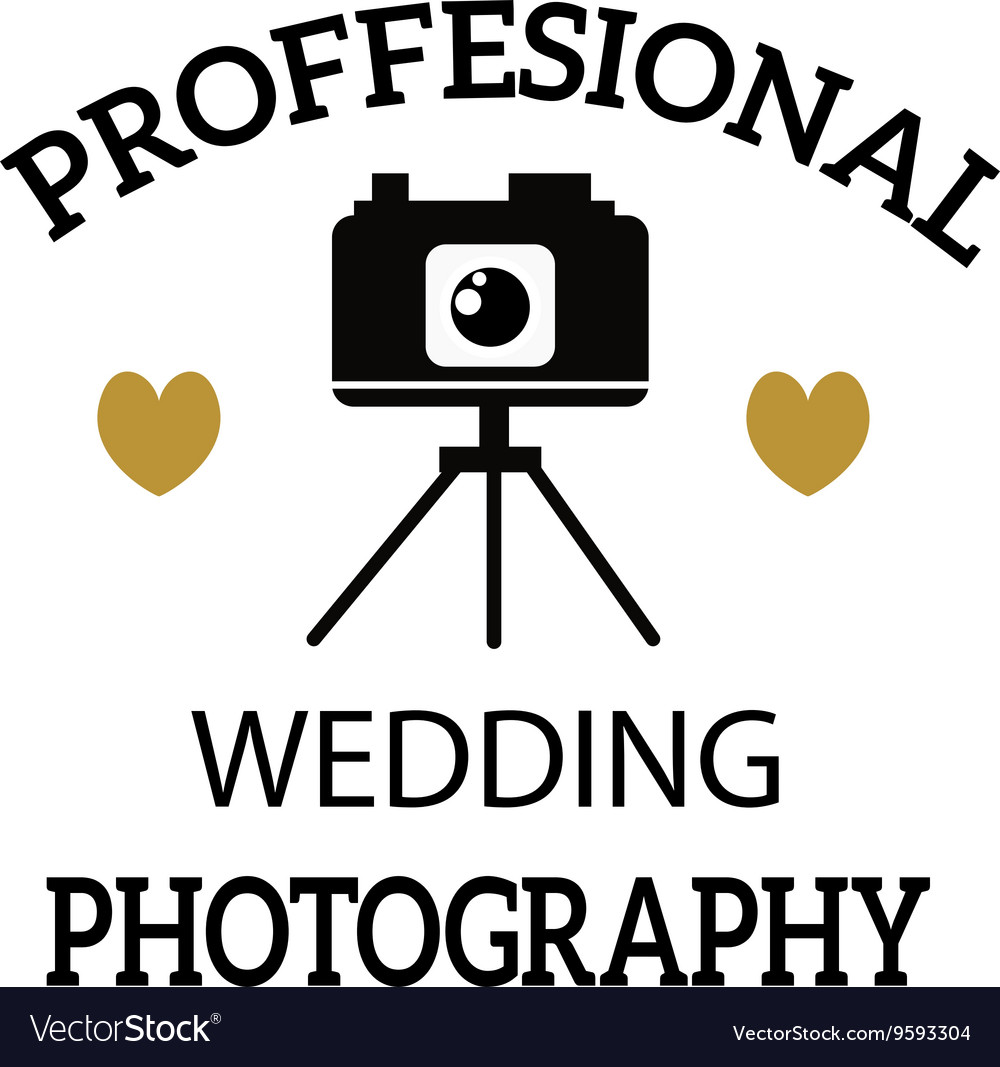 Photographer icon logo