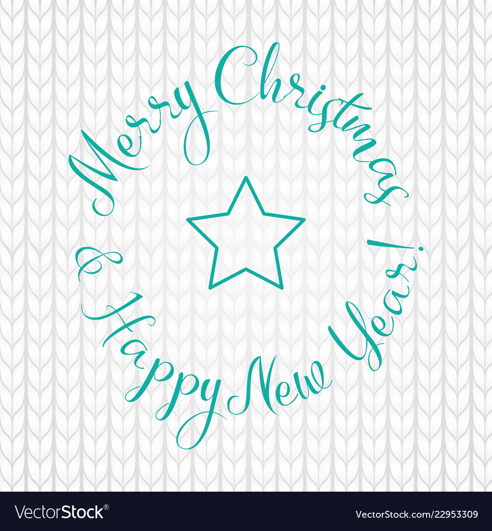 Merry Christmas Writing Images.Merry Christmas And Happy New Year Lettering Write