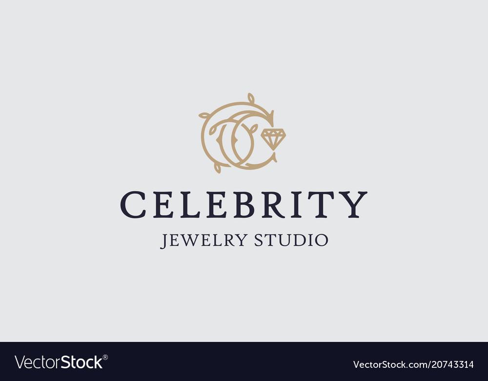Modern professional logo emblem celebrity