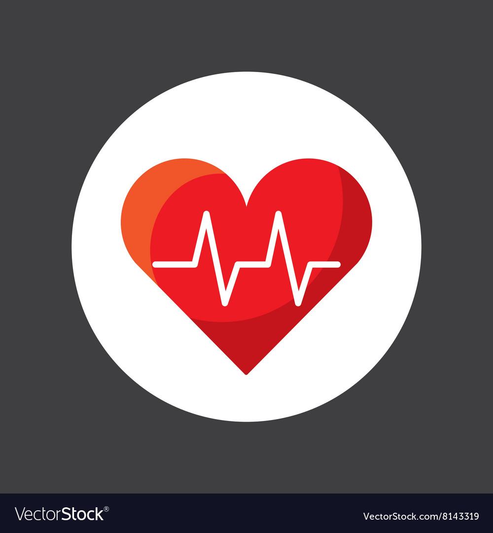 Cardiology icon design