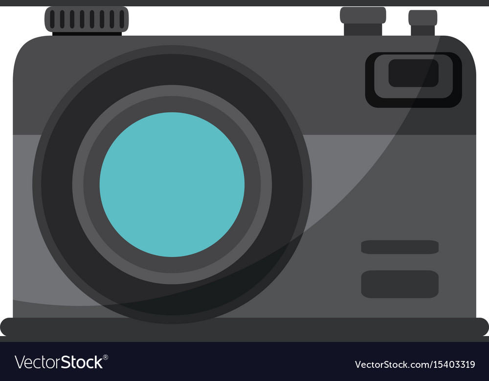 Camera Vintage Vector Free : Isolated vintage camera royalty free vector image