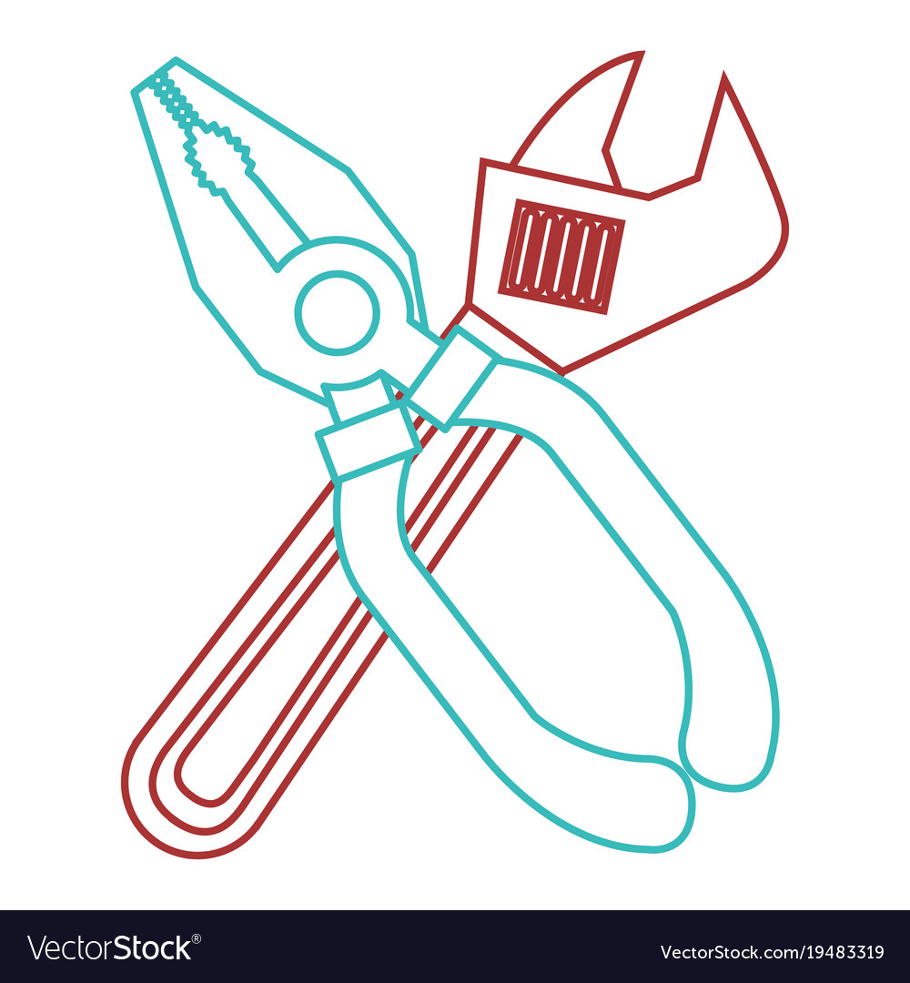 Pliers and wrench tool equipment support