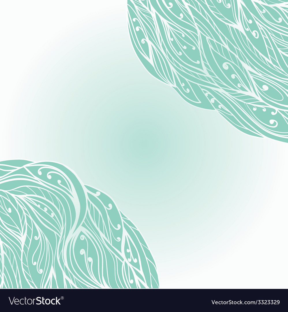FloralSwirls9 vector image