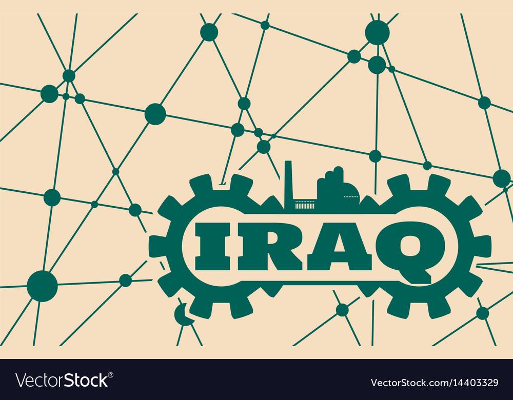 Iraq word build in gear