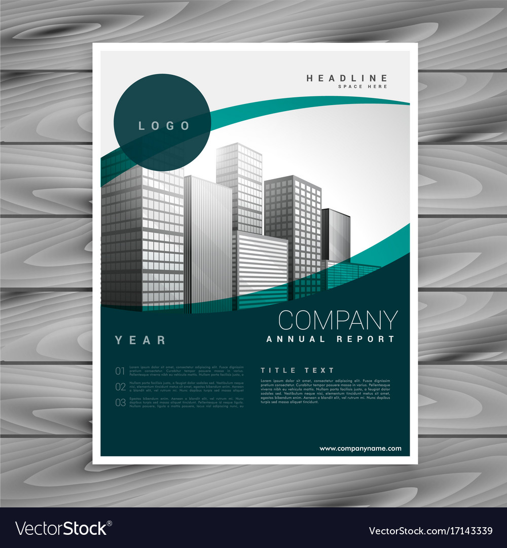 Business flyer poster design leaflet template vector image cheaphphosting