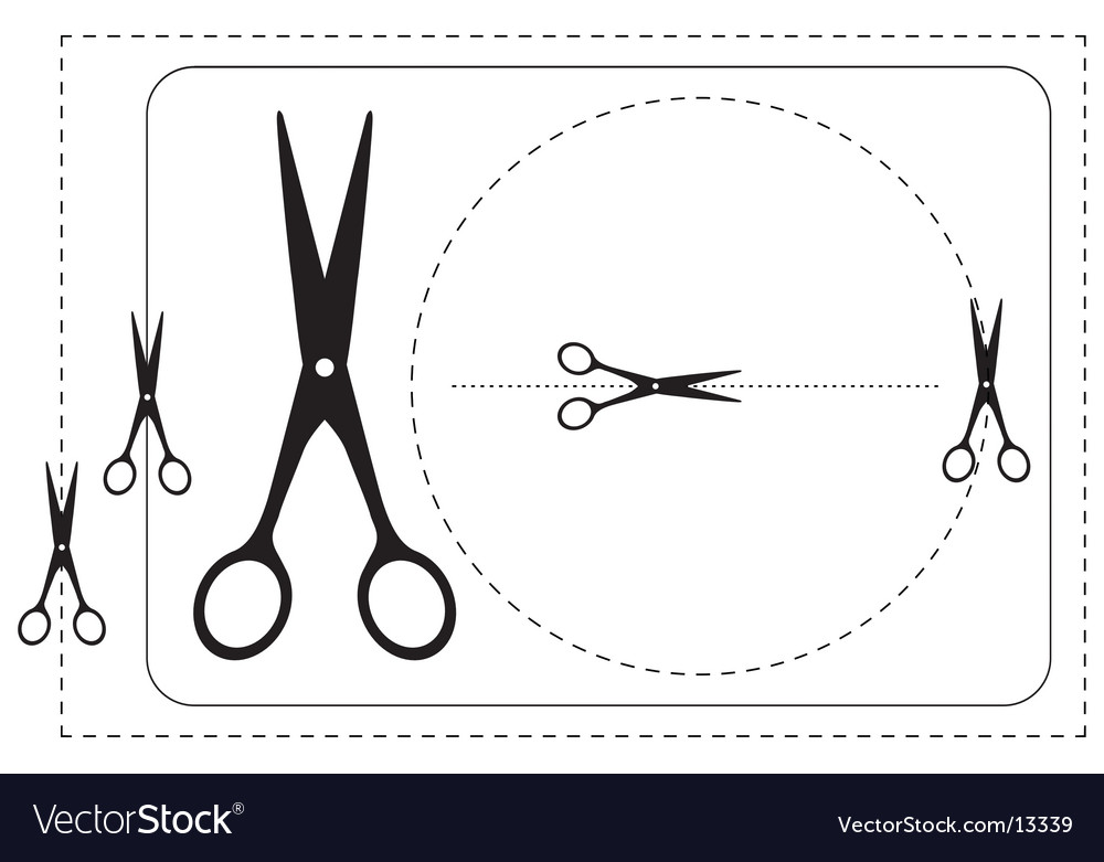 Frames and scissors