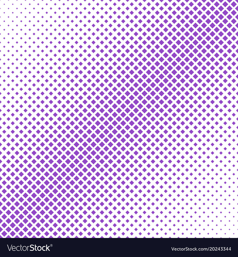 Halftone diagonal square pattern background