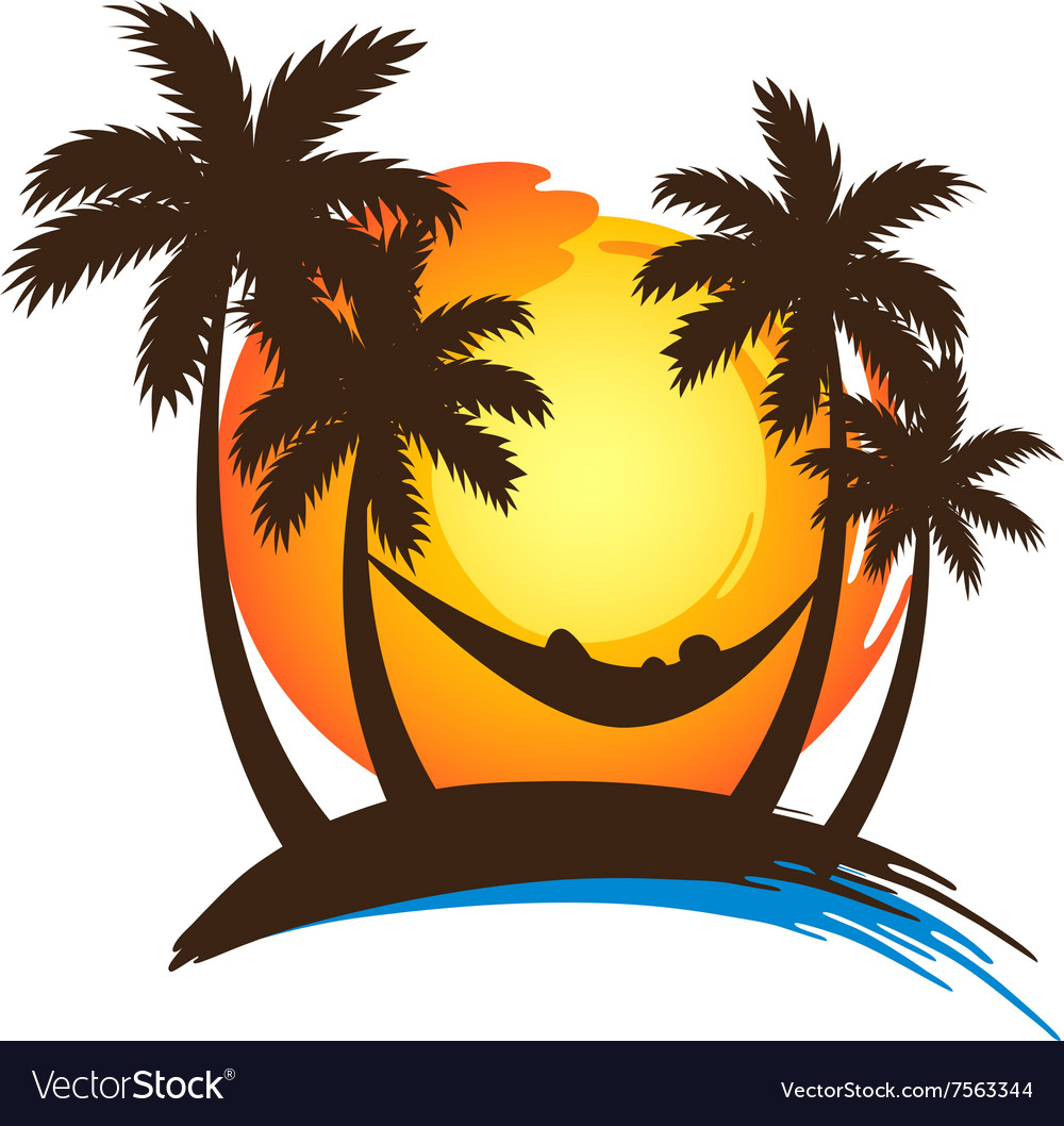 Summer vacation2 vector image