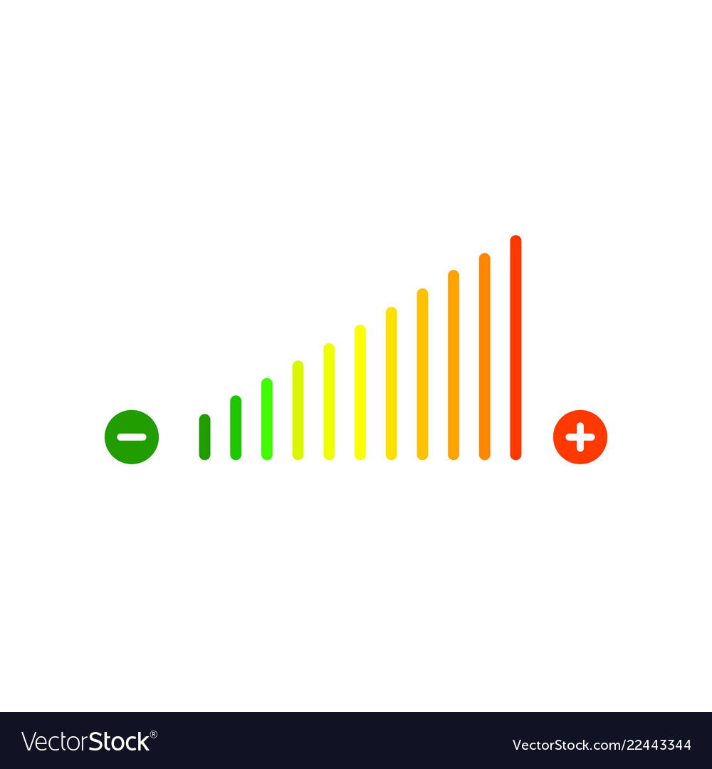 Volume sign icon