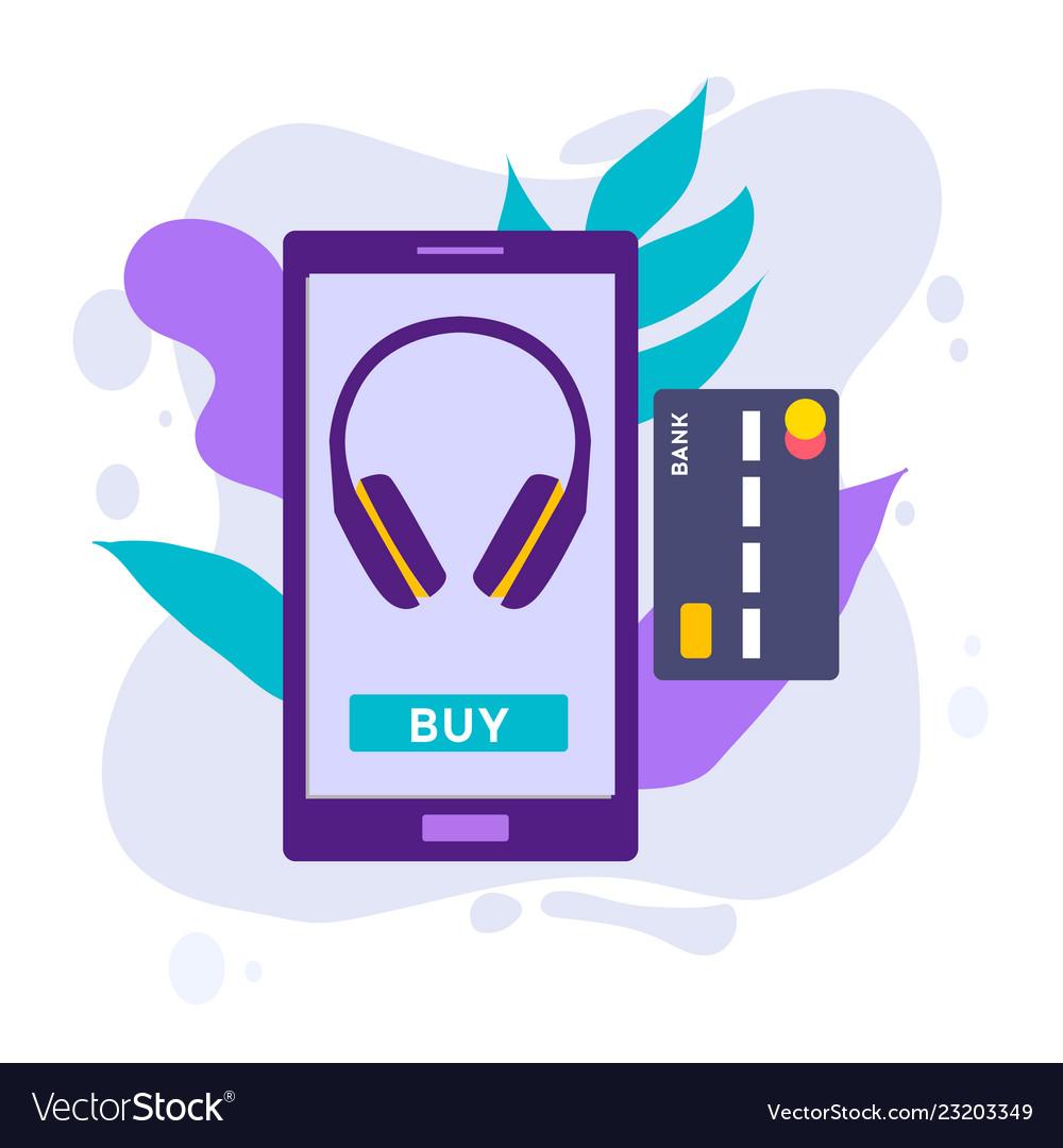 Mobile payment concept with of