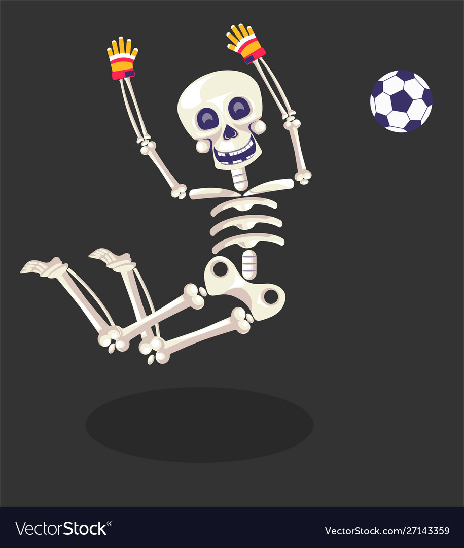 Day dead skeleton football player gloves and