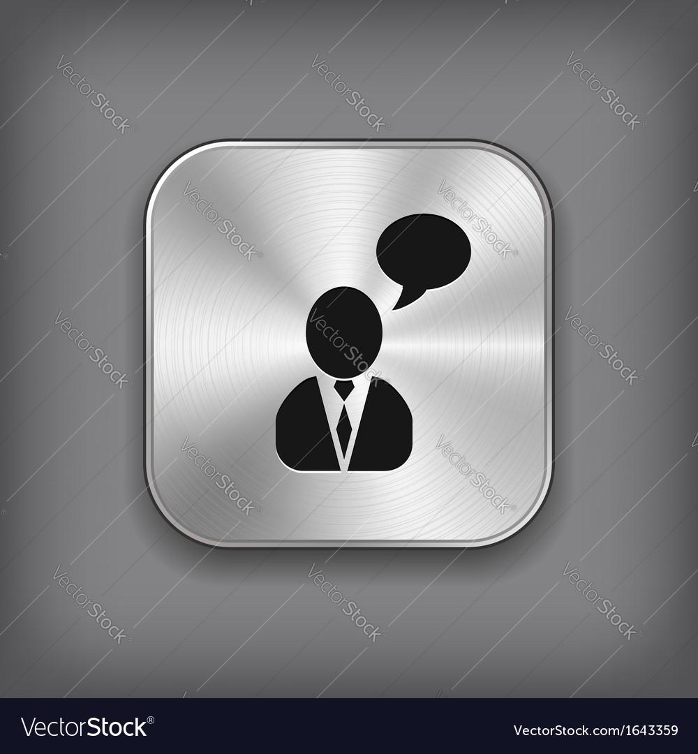 Talking man app
