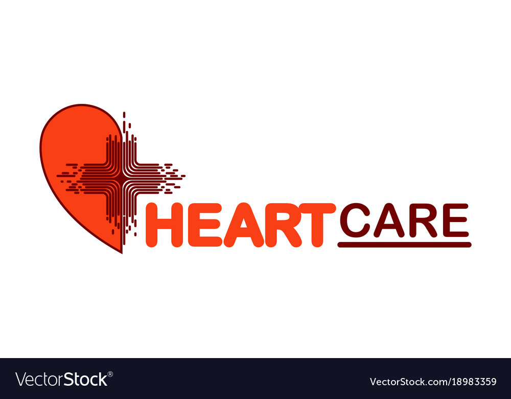 Template logo for heart care