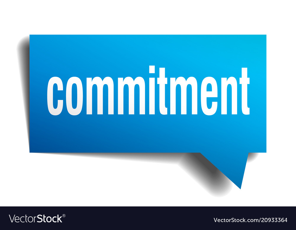 speech on commitment for students
