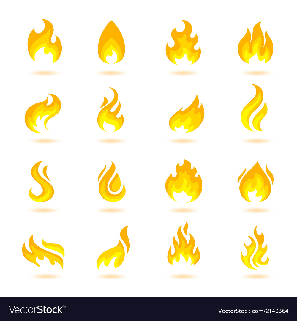 Fire Flames Icons