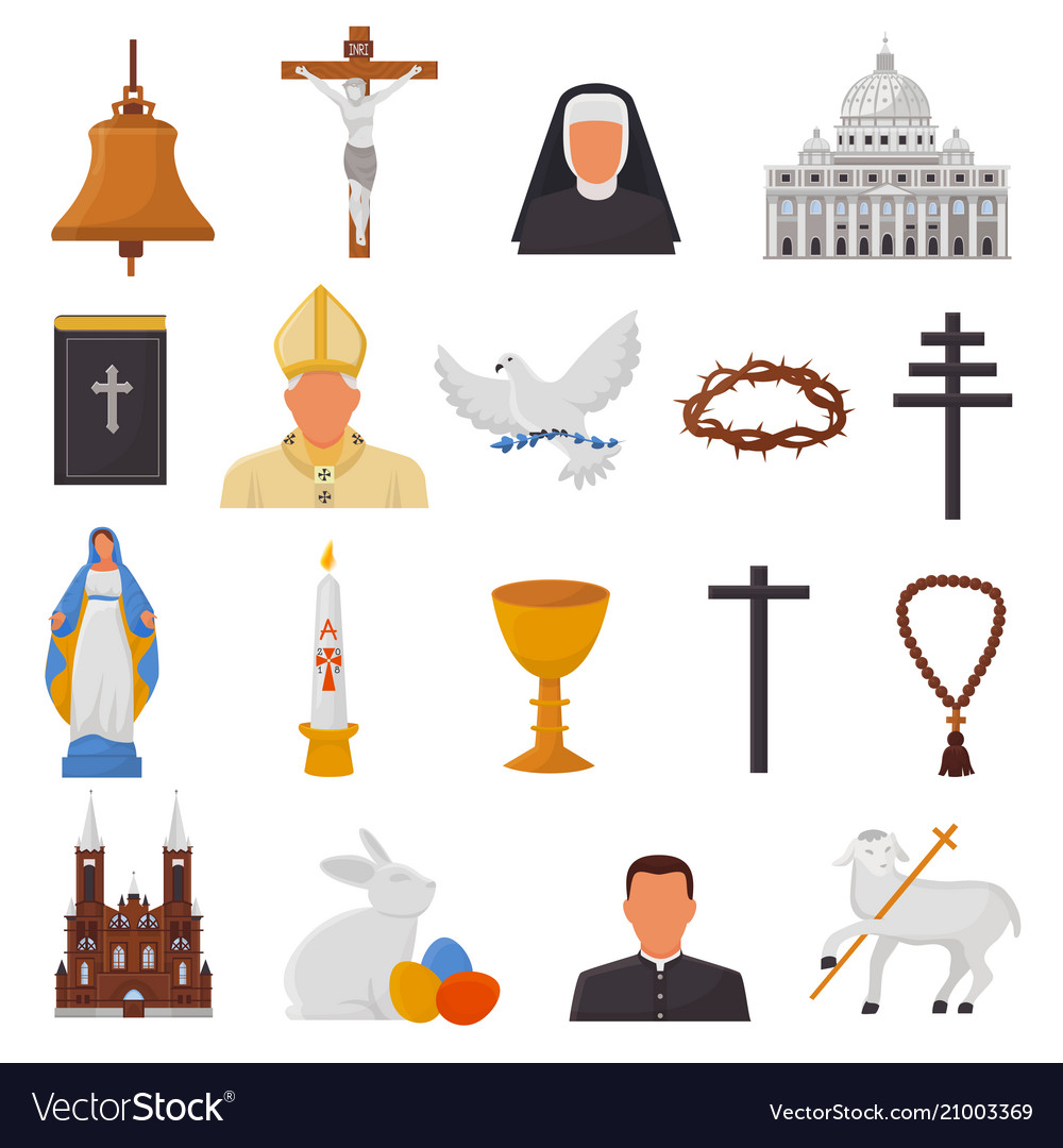 Christian icons christianity religion signs