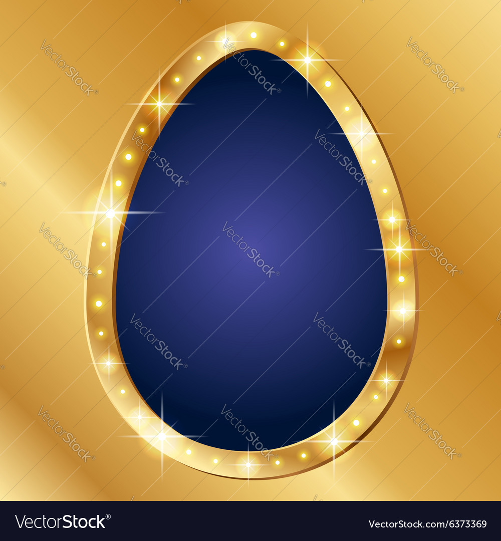 Flash banner Easter vector image