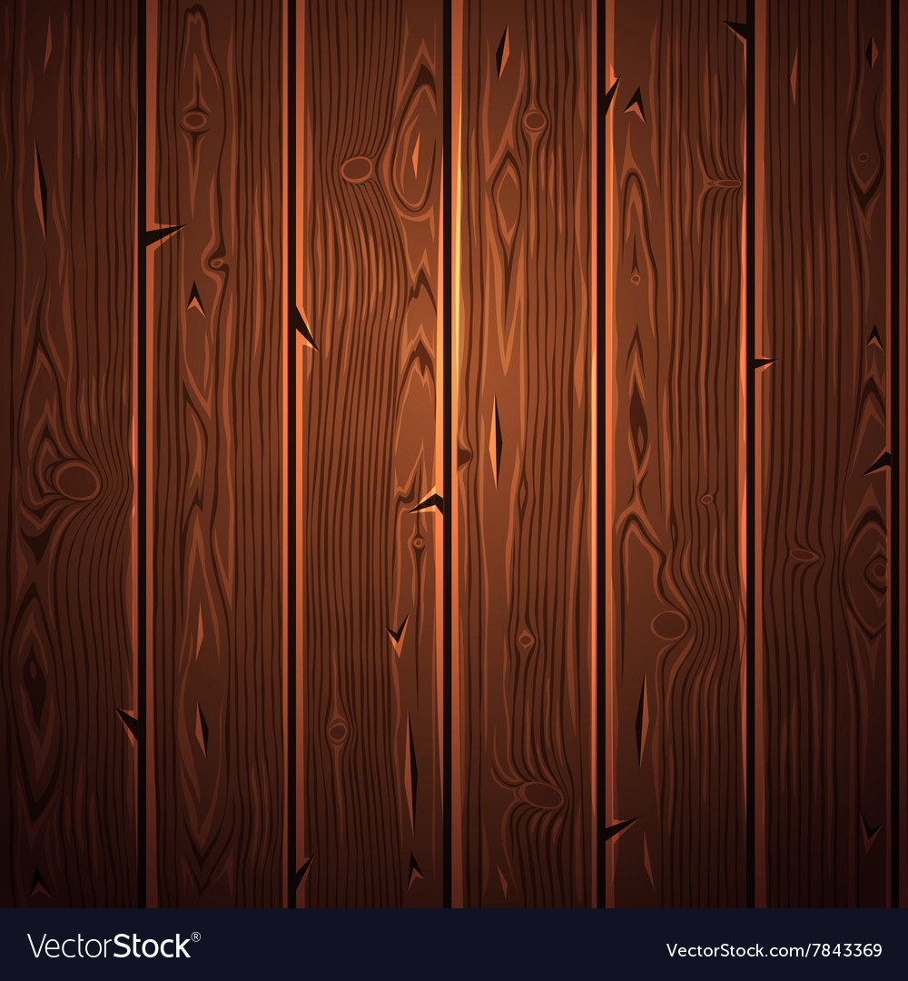 Old Wooden Texture vector image