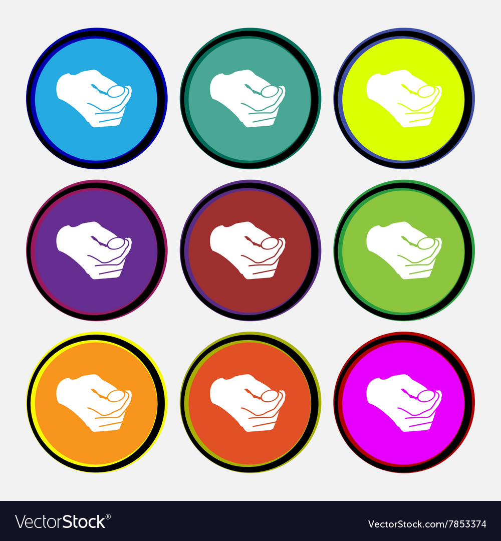 Decision making by chance with coin heads or tails vector image on  VectorStock
