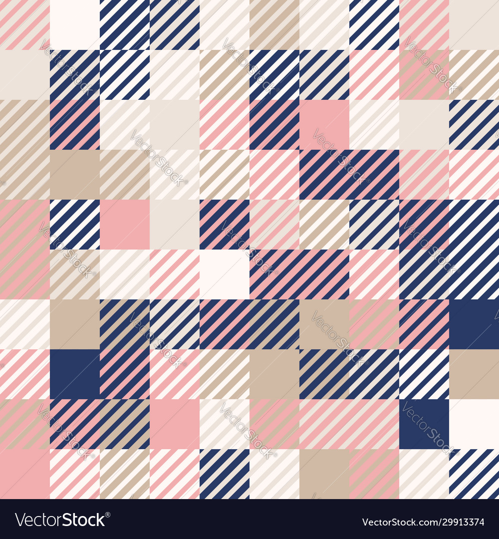 Random colored abstract geometric mosaic pattern