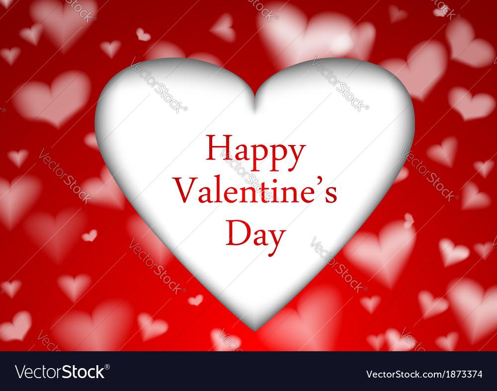Red valentine background template