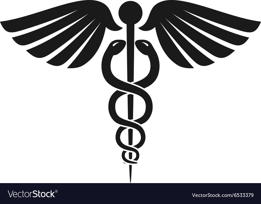 Caduceus Health Symbol