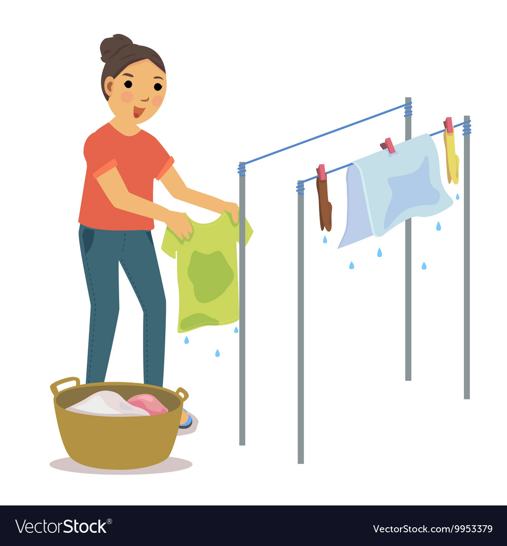 Dry clothes