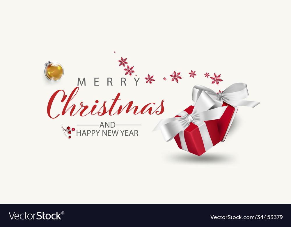 Modern holidays christmas background banner
