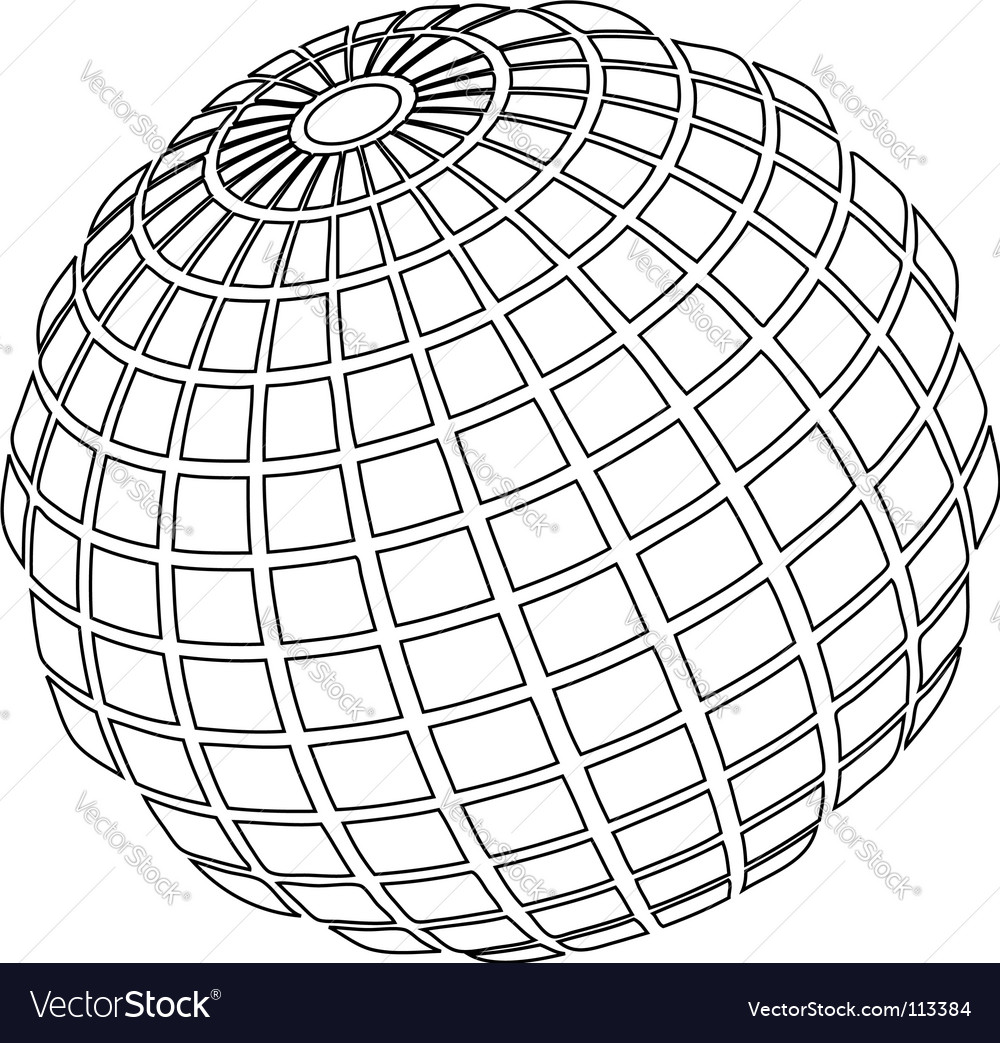 Ball wire Royalty Free Vector Image - VectorStock