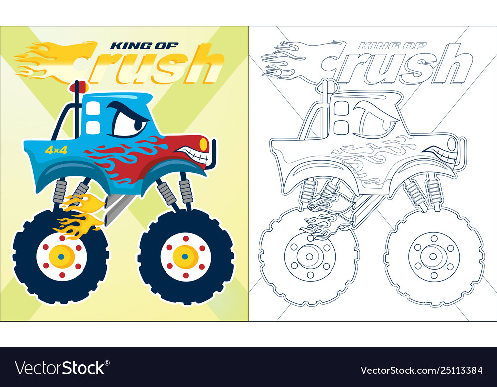 Iron Man Monster Truck coloring page | Free Printable Coloring Pages | 780x1000
