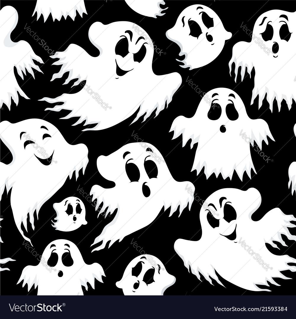 Halloween seamless background 5