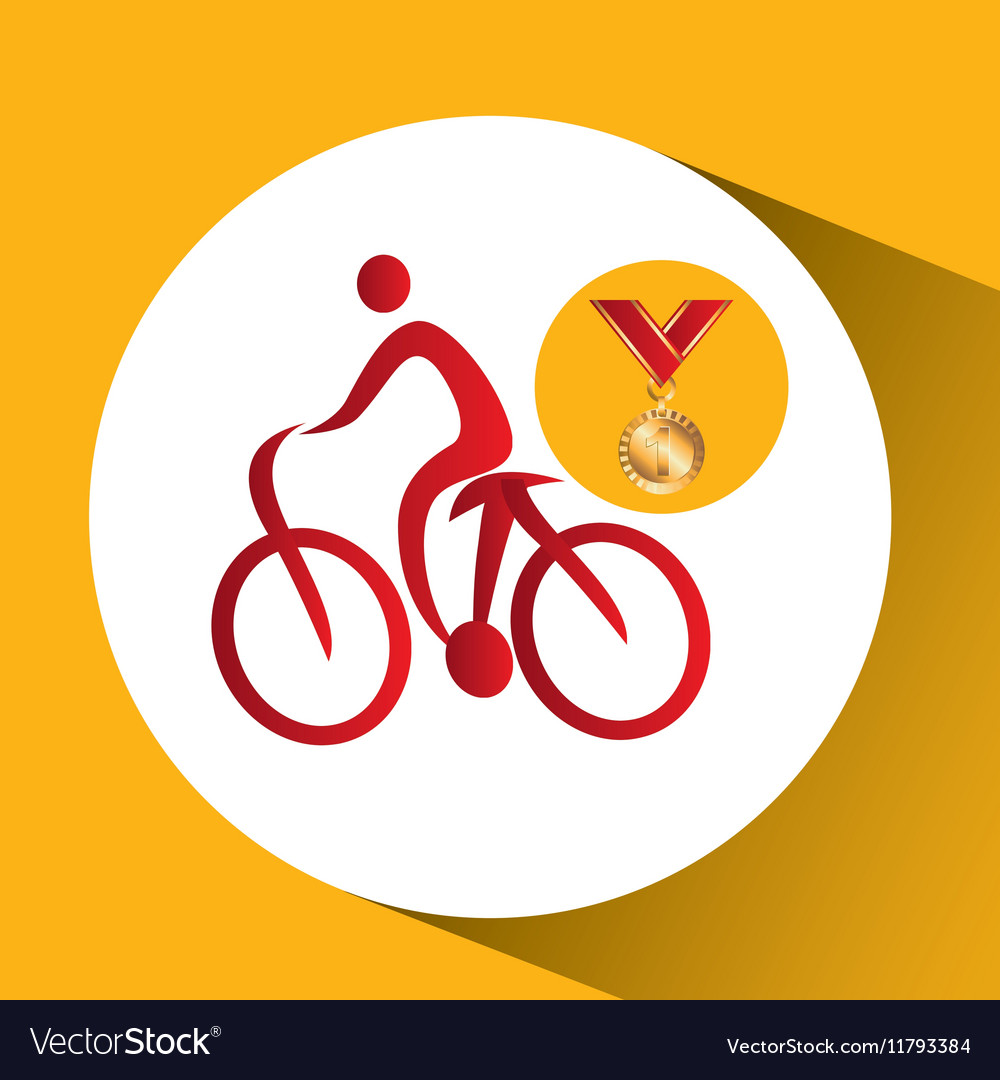 Olympic gold medal mountain bike