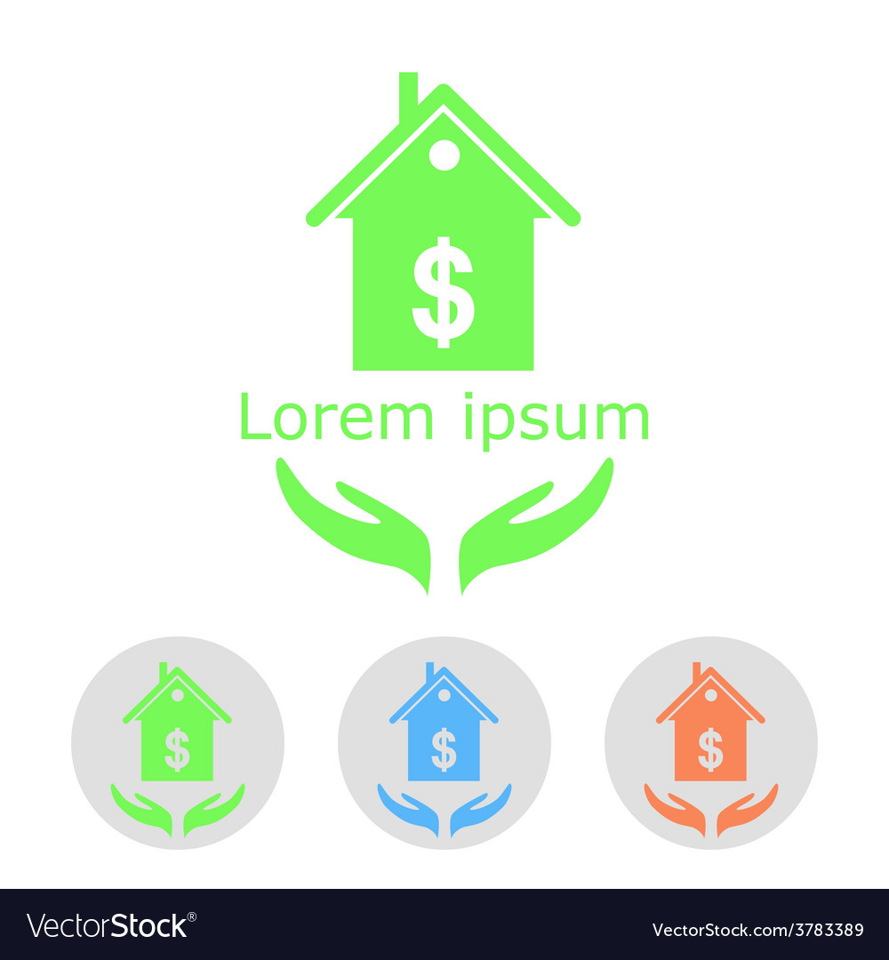 Concept of house sale