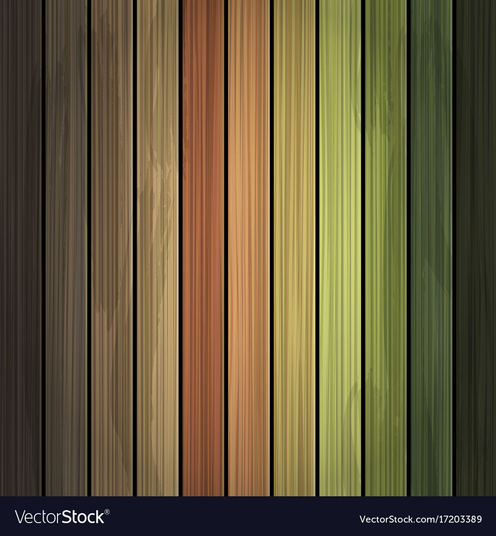 Multicolor grunge wood background texture