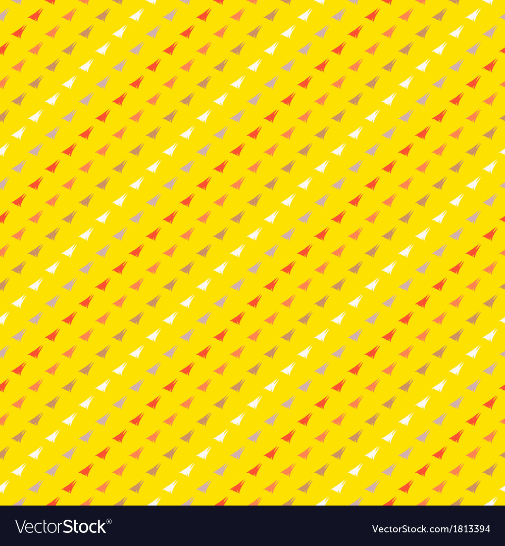 Pattern with triangles in hipster style