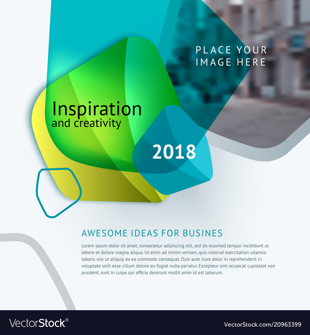 Abstract design for graphic template
