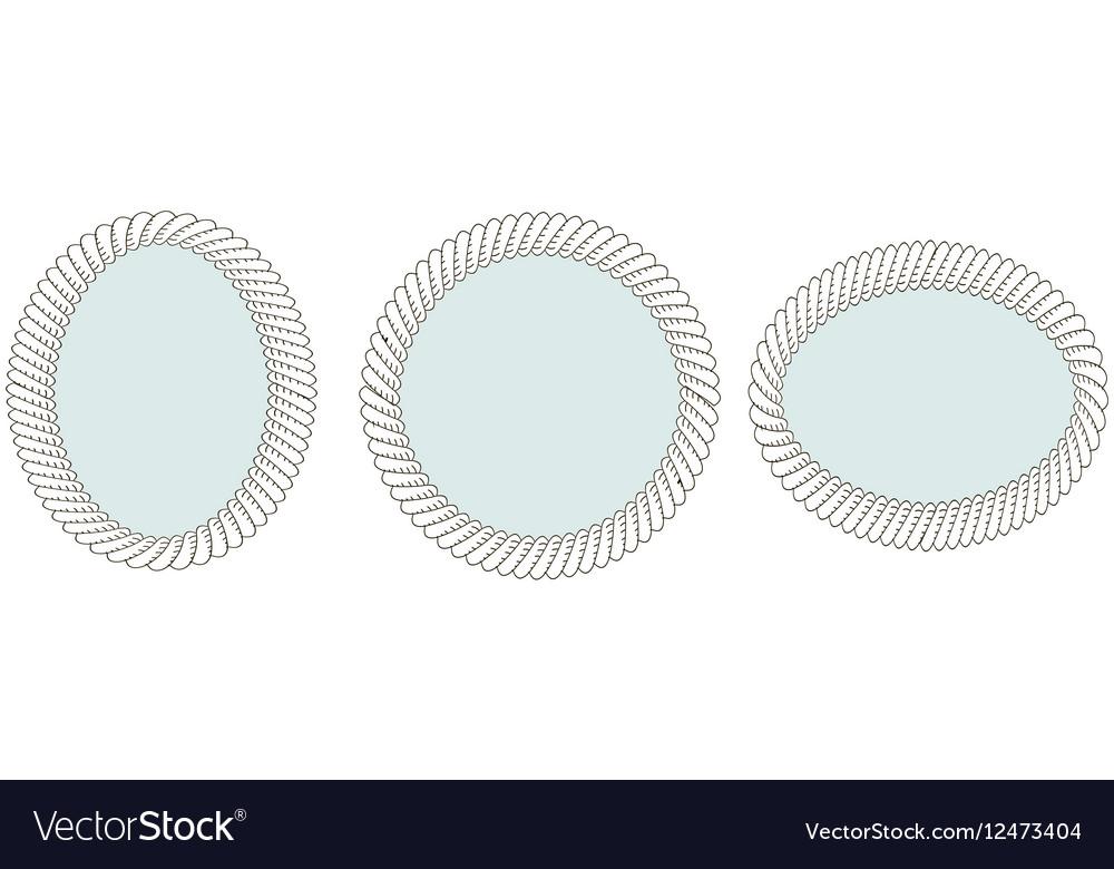 Set of vintage mirrors
