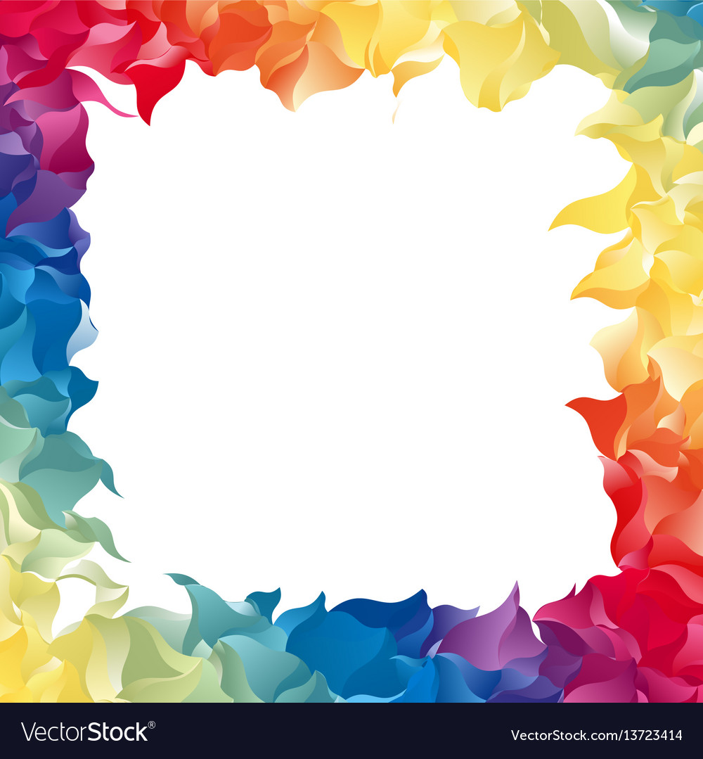 Color Abstract Frame Royalty Free Vector Image
