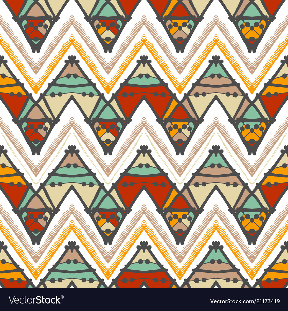 Abstract zigzag pattern for cover design