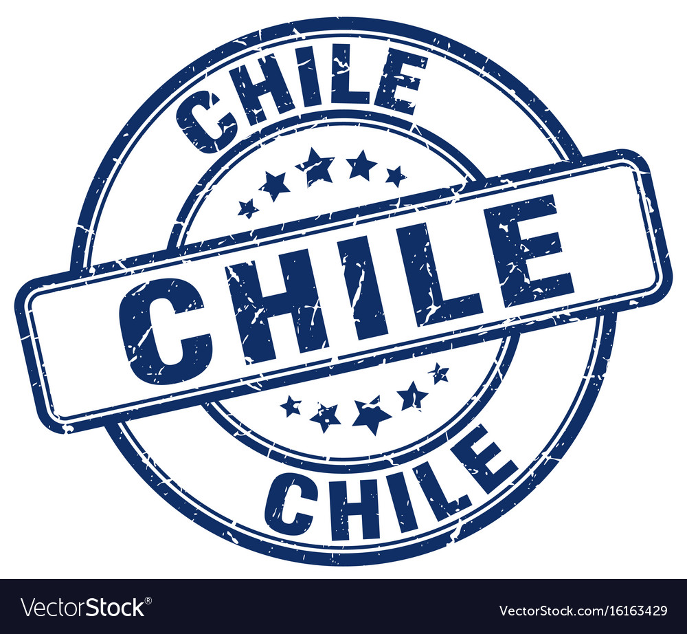Chile Stamp Vector Image